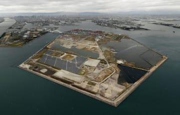 2025年万博の会場となる大阪湾の人工島・夢洲
