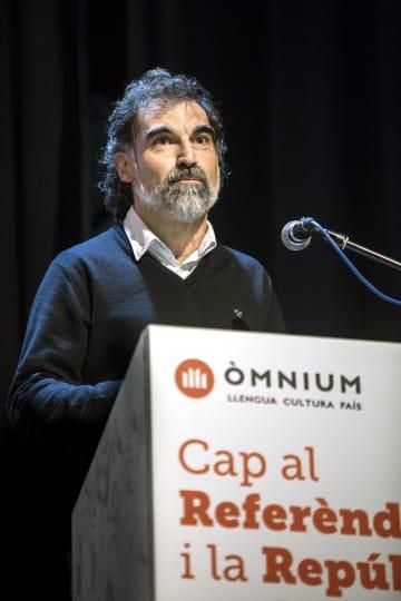 カタルーニャ文化振興団体「オムニウム・クルトゥラル」のジョルディ・クシャール代表=2017年1月(同団体提供・共同)