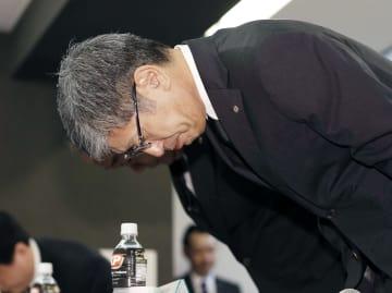 JAL President Akasaka