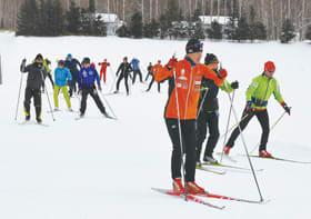五輪金メダリストの指導が受けられるクロカンキャンプ=昨年1月