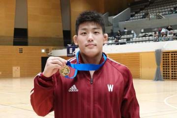 全日本選手権の前哨戦を優勝で飾った山﨑弥十朗(早大)