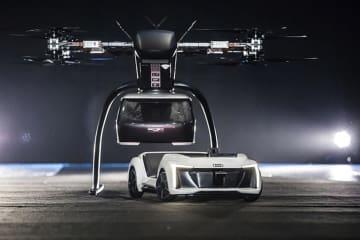 アウディ、エアバス、イタルデザインが、フライングタクシーをテスト
