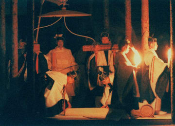 1990年11月、皇居・東御苑で行われた「大嘗祭」