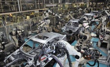 統計:Mazda assembly line