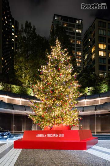 ARK HILLS CHRISTMAS 2018 クリスマスツリー