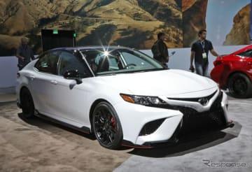 トヨタ・カムリTRD(ロサンゼルスモーターショー2018)