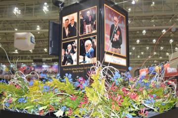 スタン・リーさん追悼モニュメント