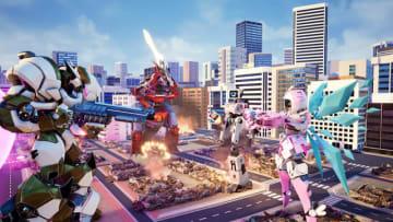 巨大ロボ乱闘アクション『Override: Mech City Brawl』配信開始!―4人で1体の操縦も可能