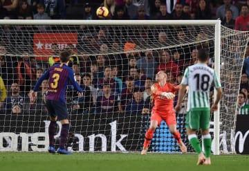 失点続くバルセロナ photo/Getty Images