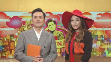 1日放送のNHKの番組「有田Pおもてなす」にゲスト出演するJUJUさん(右)=NHK提供