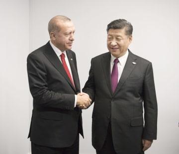 習近平主席、トルコのエルドアン大統領と会見