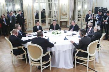 習近平主席、中ロ印非公式首脳会議に出席