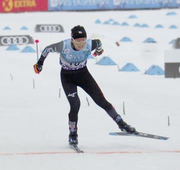 ノルディックスキーW杯距離の女子10キロフリーで24位だった石田正子=リレハンメル(共同)