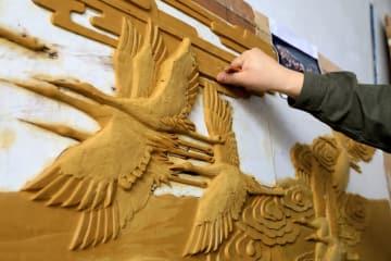 琺瑯彩工芸、銅板レリーフに新たな可能性もたらす 河北省石家荘市