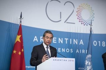王毅氏、気候変動対応のための行動と協力呼びかけ