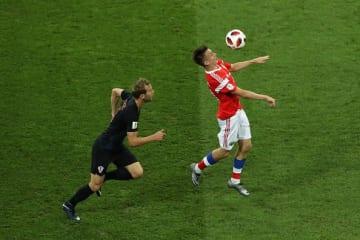 ロシアW杯で活躍したゴロビン photo/Getty Images