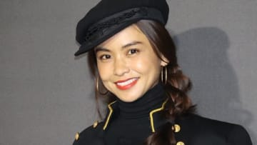 「ラルフ ローレン 表参道」のリニューアルオープン記念パーティーに出席した滝沢眞規子さん