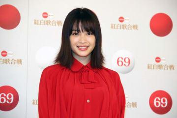「第69回NHK紅白歌合戦」の司会者会見に出席した広瀬すずさん