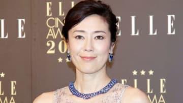 「エル シネマアワード2018」の受賞式に出席した寺島しのぶさん