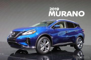 日産 ムラーノ 2019年モデル(ロサンゼルスモーターショー2018)
