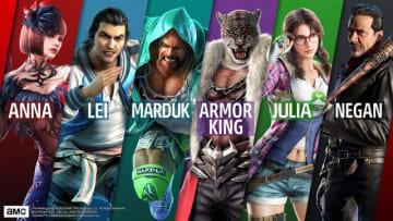 『鉄拳7』Season2参加キャラクターが全て公開!「クレイグ・マードック」「アーマーキング」は12月3日参戦!