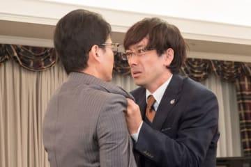 連続ドラマ「ハラスメントゲーム」第8話のシーン (C)テレビ東京