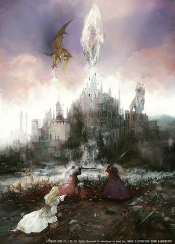 「WAR OF THE VISIONS ファイナルファンタジー ブレイブエクスヴィアス 幻影戦争」のコンセプトアート (C)SQUARE ENIX CO., LTD. All Rights Reserved. Co-Developed by gumi Inc.LOGO ILLUSTRATION: (C) 2018 YOSHITAKA AMANO IMAGE ILLUSTRATION: ISAMU KAMIKOKURYO
