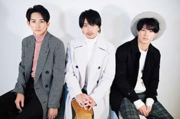 女性ファッション誌「CanCam」1月号に登場した(左から)町田啓太さん、青柳翔さん、鈴木伸之さん