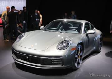 ポルシェ 911 新型(ロサンゼルスモーターショー2018)