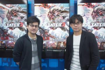 (左から)富山勇也氏(バンダイナムコエンターテインメント)、吉村広氏(バンダイナムコスタジオ)