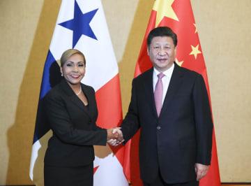 習近平主席、パナマのアブレゴ国民議会議長と会見