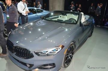 BMW 8シリーズ・カブリオレ 新型(ロサンゼルスモーターショー2018)