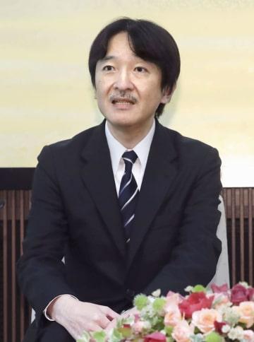 53歳の誕生日を前に記者会見される秋篠宮さま=11月、東京・元赤坂の宮邸