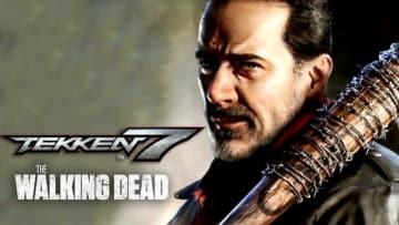 """『鉄拳7』あのシーンを再現した「ウォーキング・デッド」""""ニーガン""""ゲームプレイ映像"""