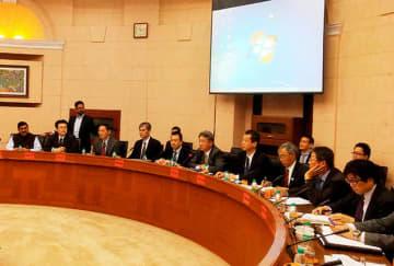 JICAは4日、鉄道安全能力強化プロジェクトの第1回合同調整委員会を開いた(JICA提供)
