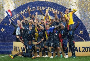 W杯を制したフランス代表 photo/Getty Images
