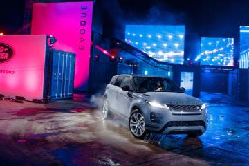 【Jaguar Land Rover】新型「RANGE ROVER EVOQUE」をワールドプレミア
