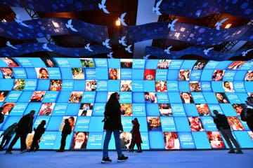 「偉大な変革-慶祝改革開放40周年大型展」、来場者が90万人に
