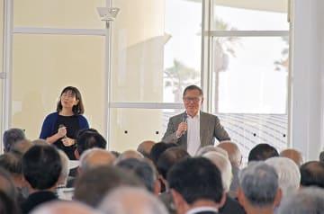 約160人もの熊谷市の自治会長が集まった