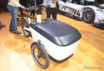 フォルクスワーゲンの3輪電動アシスト自転車、カーゴ eバイク(ロサンゼルスモーターショー2018)