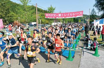 今年4月に行われた東丹沢宮ヶ瀬トレイルレース