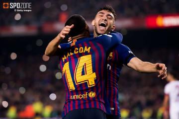 控え組が躍動したバルセロナ