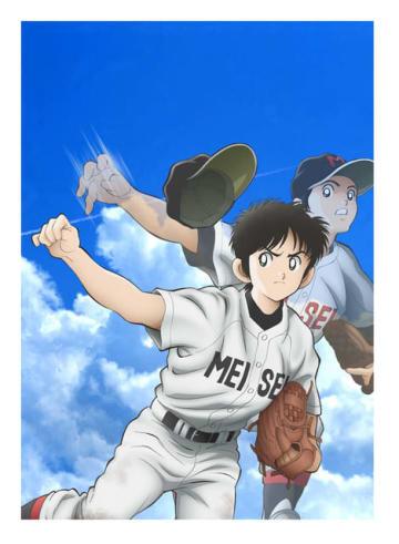 TVアニメ『MIX』キービジュアル(C)あだち充・小学館/読売テレビ・ShoPro
