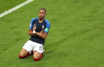 ロシアW杯まで制したムバッペ photo/Getty Images