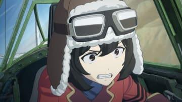 TVアニメ『荒野のコトブキ飛行隊』第2弾PV(C)荒野のコトブキ飛行隊製作委員会