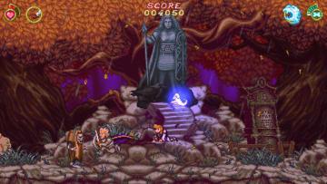 娘と共同開発の『Battle Princess Madelyn』Steamにて配信開始!―『大魔界村』風の横スクロールアクション