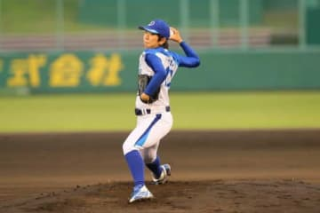 愛知ディオーネ・松谷比菜乃【写真提供:日本女子プロ野球リーグ】