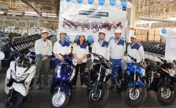 SMIPLは、二輪車の累計生産台数が400万台に到達した=ハリヤナ州(同社提供)
