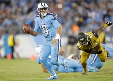 Marcus Mariota Leads Titans to 36-22 Win vs Jaguars