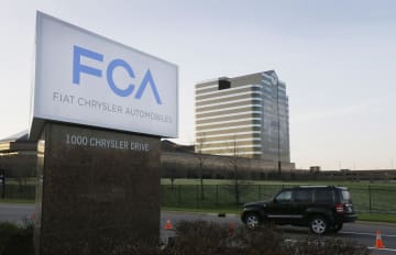 自動車大手フィアット・クライスラー・オートモービルズ(FCA)の米ミシガン州にある拠点=2014年(AP=共同)